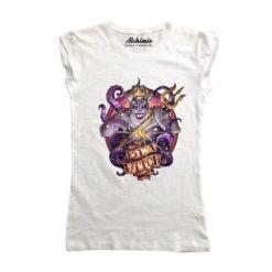 ursula maglia principesse tatuate t-shirt tattoo disney