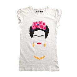 frida kahlo maglia t-shirt donna