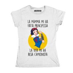 Biancaneve camionista t-shirt