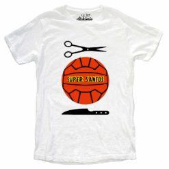 super santos t-shirt maglia uomo