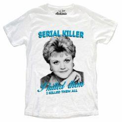 Jessica Fletcher Serial Killer t-shirt maglia uomo