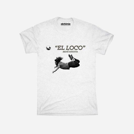 el loco Renè Higuita Colombia maglia t-shirt