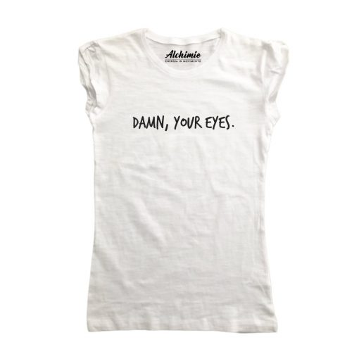 damn your eyes t-shirt fedez maglia