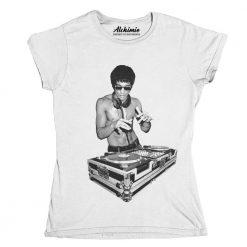 T-Shirt Bruce Lee was a deejay