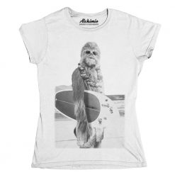 chewbecca surf t-shirt maglia