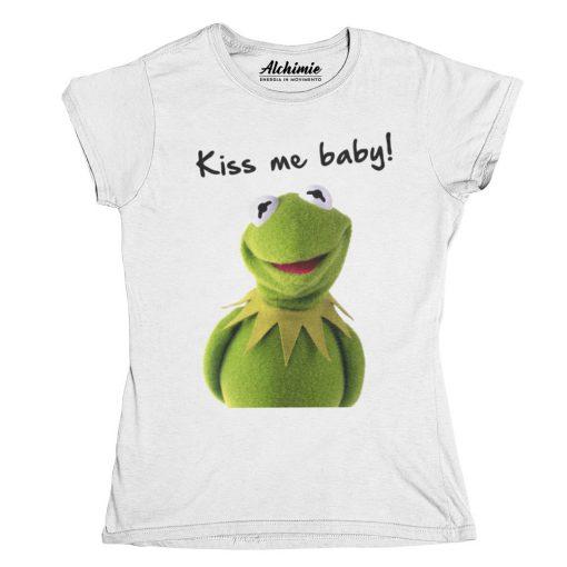 Kermit the frog from Muppets Kermit la rana t-shirt maglia