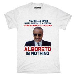 alboreto is nothing t-shirt d'oggi maglia vintage