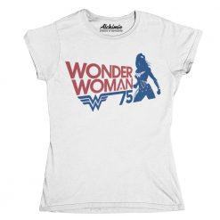 Wonder Woman t-shirt collezione vintage maglia