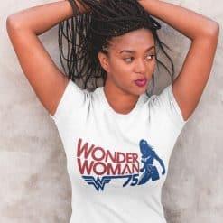 Wonder Woman maglia t-shirt vintage