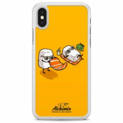 sushi life cover trasparente in gomma per iPhone