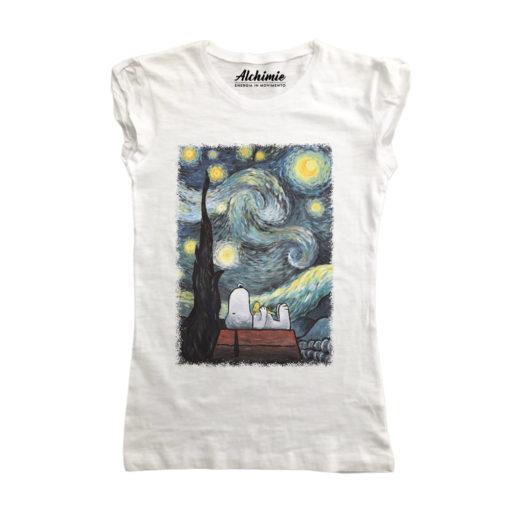 Snoopy e la notte stellata
