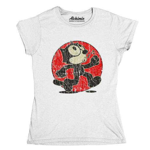 Felix the cat maglia t-shirt donna