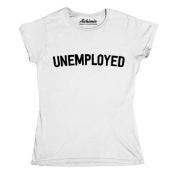 unemployed maglia donna