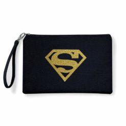 pochette oro glitter supergirl