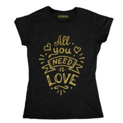 all you need is love Beatles maglia t-shirt