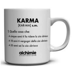tazze tazza mug dizionario divertente frasi karma