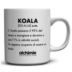 tazze tazza mug dizionario divertente frasi koala