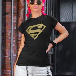 t-shirt donna supergirl