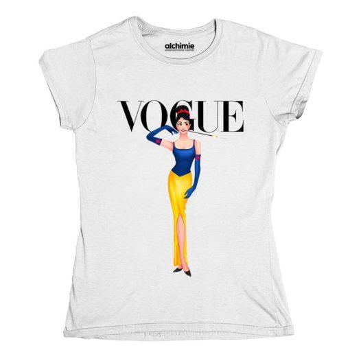 Biancaneve Audrey Hepburn t-shirt maglia donna