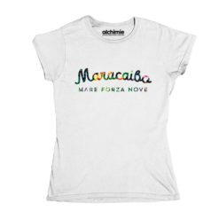 maracaibo mare forza nove maglia t-shirt donna