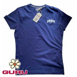 guru maglia uomo scollo a v t-shirt
