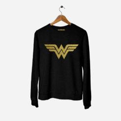Wonder Woman felpa donna
